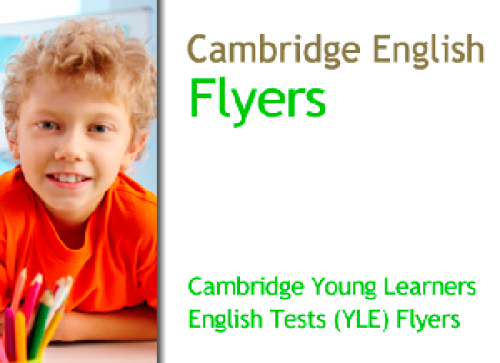 Cambridge English Young Learners (YLE) Flyers – A2