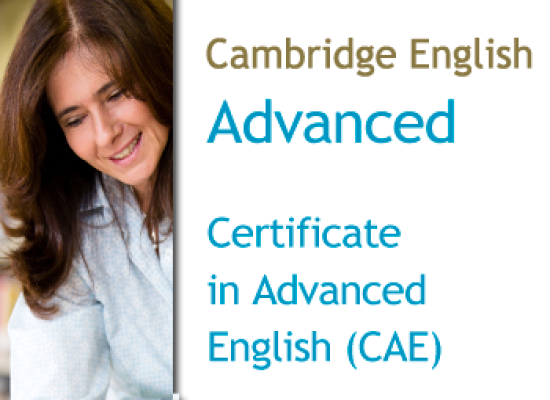Cambridge Certificate in Advanced English (CAE/C1)