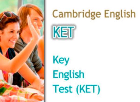 Convocatorias Cambridge KET (Nivel A2)
