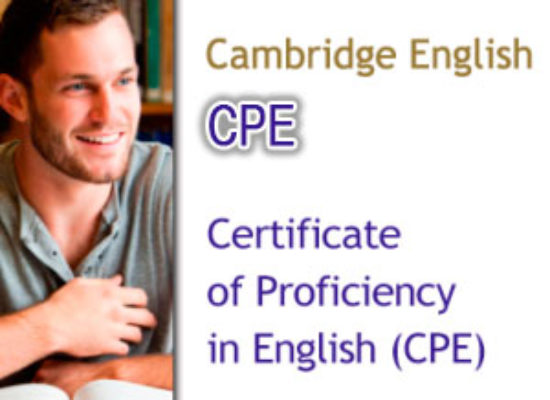 Convocatorias Cambridge CPE (Nivel C2)
