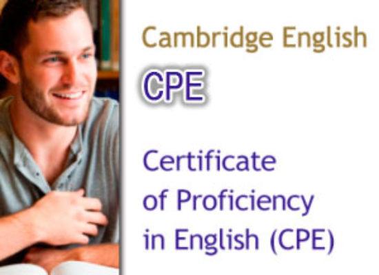 Convocatorias Cambridge CPE (Nivel C2)