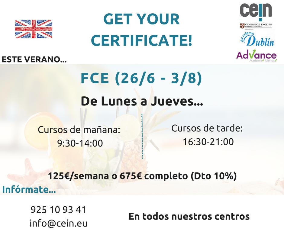FCE Summer Courses