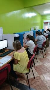 *Fotografías del examen realizado en Bolaños de Calatrava en Ciudad Real durante este mes