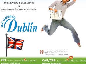 Consigue tu titulación Cambridge English este verano 2018 con CEIN y Academia Dublín